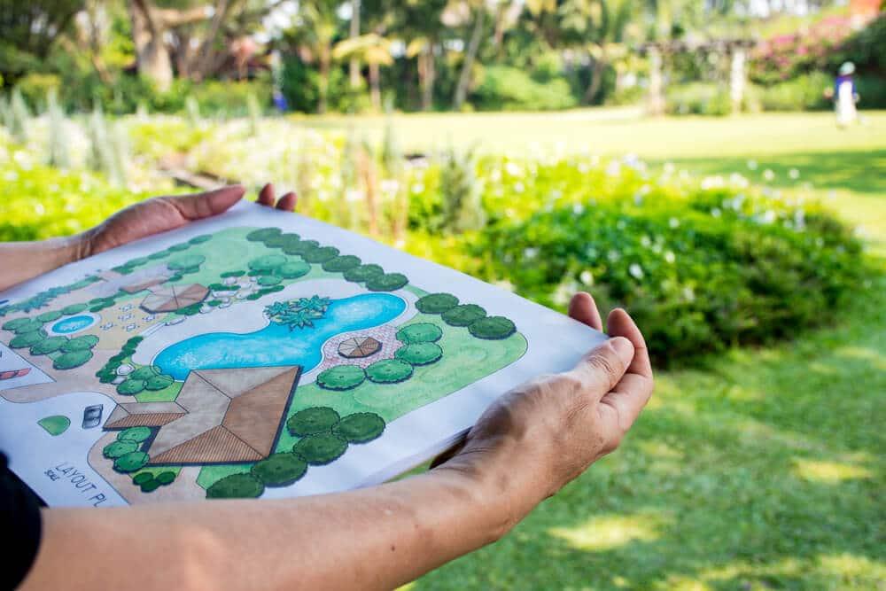 Réaliser un dessin de votre jardin