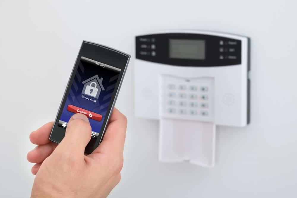 système d'alarme dans son habitation