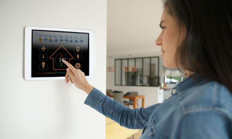 système de contrôle maison
