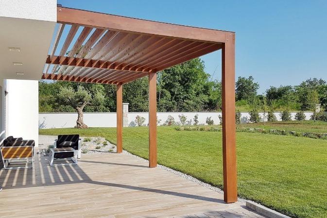 Installation d'une nouvelle terrasse