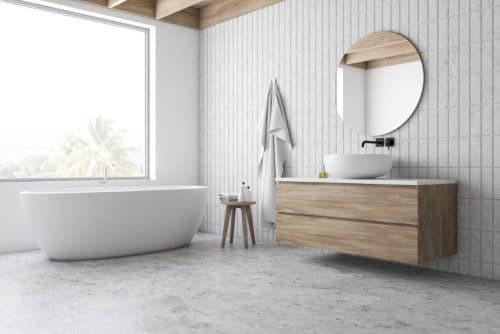 sol pour salle de bain